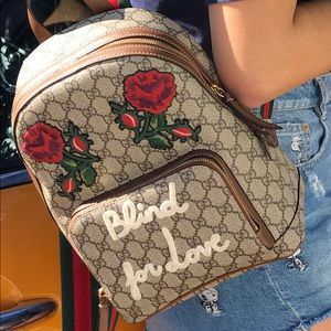 Gucci Blind For Love Backpack Limited Edition !!!